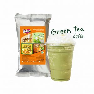 Mamio Serbuk Green Tea 500 gram