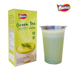 Mamio Serbuk Green Tea Latte 5 Sachet